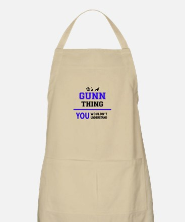 It's GUNN thing, you wouldn't understand Apron