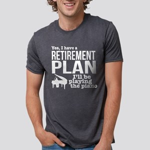 Piano Retirement Plan T-Shirt