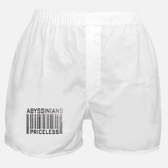 Abyssinian Cat Priceless Pet Lover Boxer Shorts