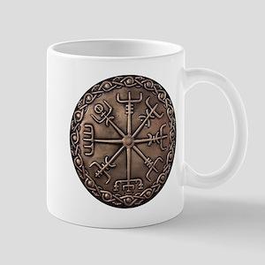 Brass Vegvisir - Viking Compa Mug Mugs