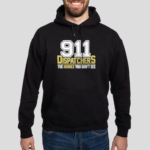 911 Dispatcher Heroes Hoodie (dark)
