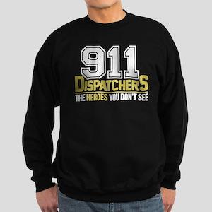 911 Dispatcher Heroes Sweatshirt (dark)