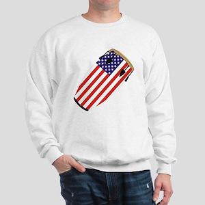 Conga USA Flag music Sweatshirt