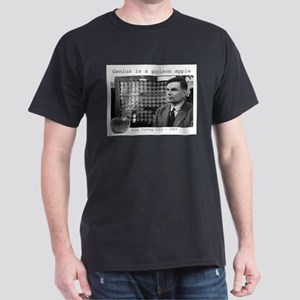 Alan Turing Genius is a poison apple T-Shirt