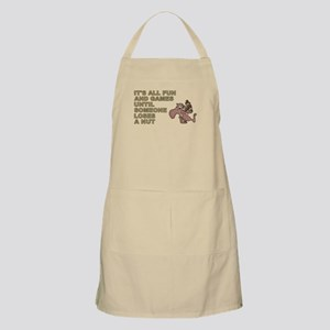 ITS ALL FUN AND GAM... Light Apron