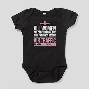 Finest Air Traffic Controller Baby Bodysuit