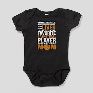 Favorite Player Basketball Mom Baby Bodysuit