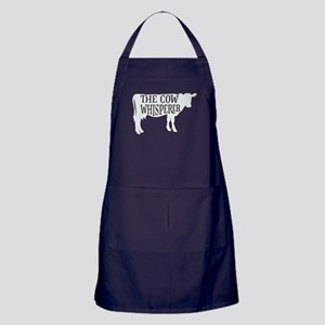 The Cow Whisperer Apron (dark)