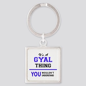 It's GYAL thing, you wouldn't understand Keychains