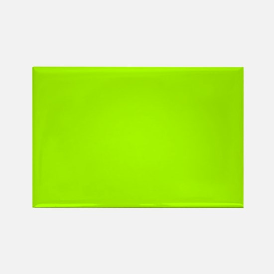 Fluorescent Green Solid Color Magnets