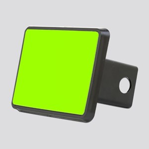 Fluorescent Green Solid Co Rectangular Hitch Cover