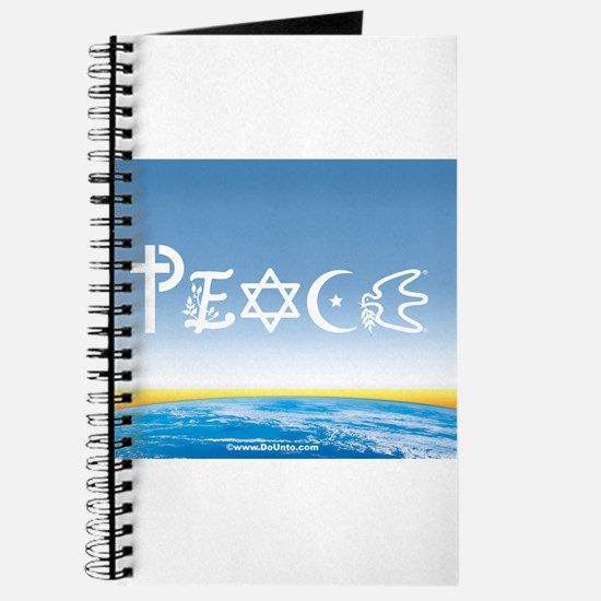 Peace On Earth at Sunrise Journal
