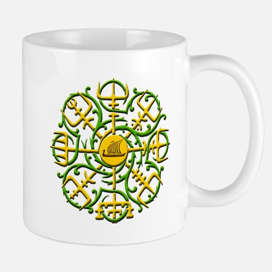 Knotwork Vegvisir - Viking Co Mug Mugs