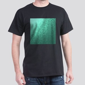mint checks modern typ pattern T-Shirt