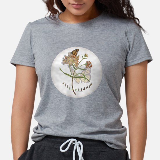 Monarch butterfly with Narrowleaf milkweed T-Shirt