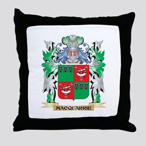 Macquarrie Coat of Arms - Family Cres Throw Pillow