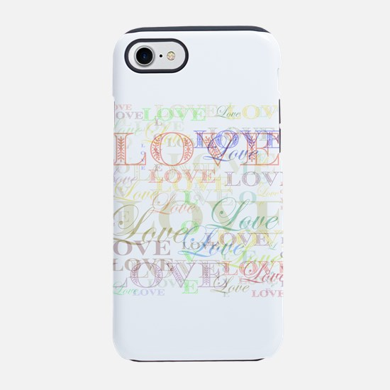 Love Large by LH iPhone 8/7 Tough Case