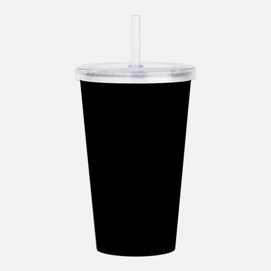 Simply Black Solid Col Acrylic Double-wall Tumbler