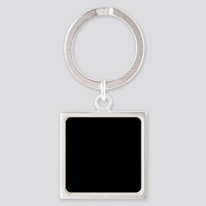 Simply Black Solid Color Keychains