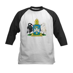 Canberra Coat Of Arms Kids Baseball Jersey