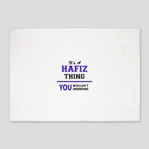 It's HAFIZ thing, you wouldn't unde 5'x7'Area Rug