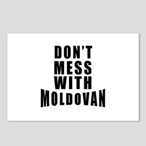 Don't Mess With Moldova Postcards (Package of 8)