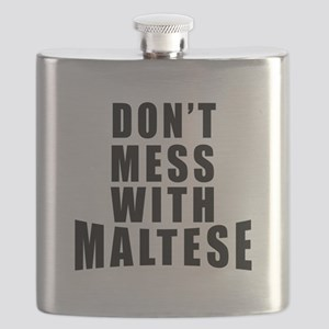Don't Mess With Malta Flask