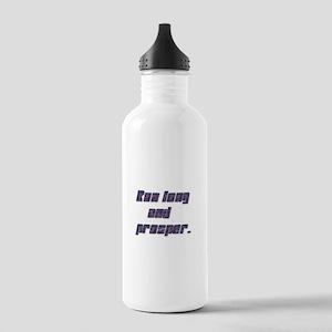 Run long and prosper - Stainless Water Bottle 1.0L