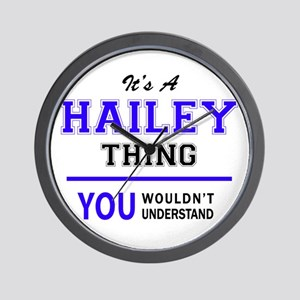 It's HAILEY thing, you wouldn't underst Wall Clock