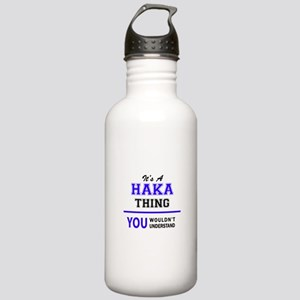 It's HAKA thing, you w Stainless Water Bottle 1.0L