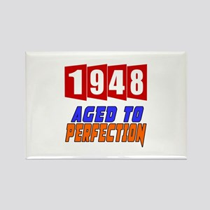 1948 Aged To Perfection Rectangle Magnet
