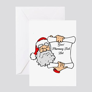 Good Pharmacy Tech List Greeting Card
