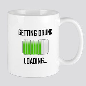 Getting Drunk Loading Funny Mugs