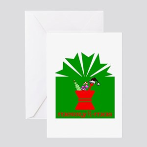 Merry Rx-mas Greeting Card