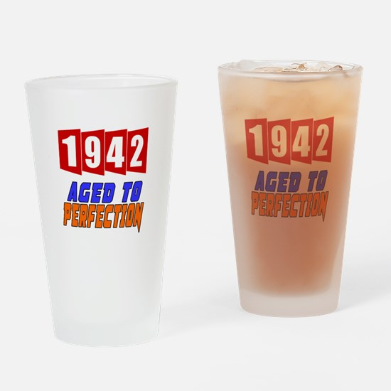 1942 Aged To Perfection Drinking Glass
