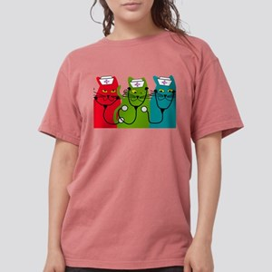 black cats NURSE BEST Women's Dark T-Shirt