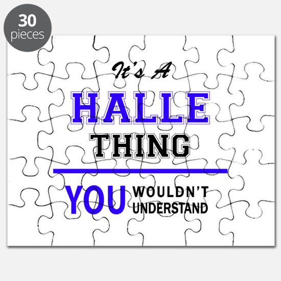 It's HALLE thing, you wouldn't understand Puzzle