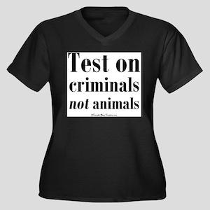 testcriminals Plus Size T-Shirt