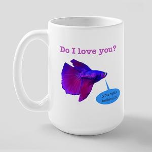 Betta Fish Large Mug