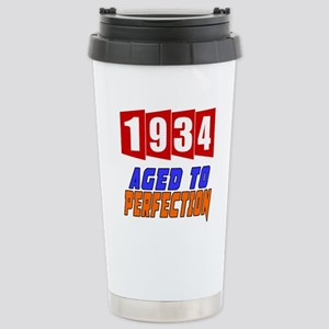 1934 Aged To Perfection Stainless Steel Travel Mug
