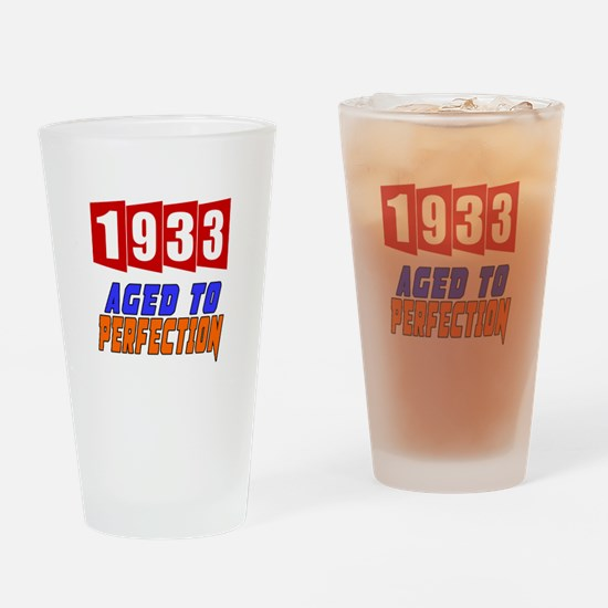 1933 Aged To Perfection Drinking Glass