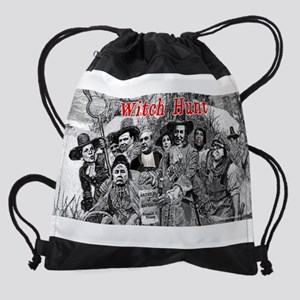 Witch Hunt: The Indictment Drawstring Bag