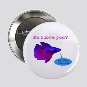 "Betta Fish 2.25"" Button"