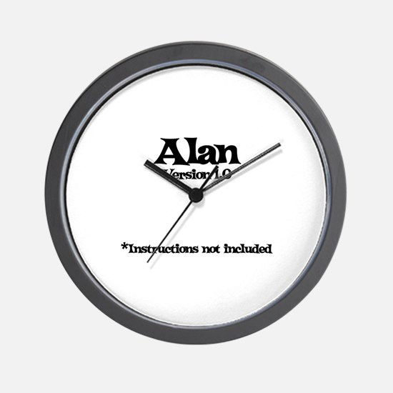 Alan Version 1.0 Wall Clock