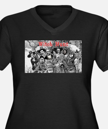 Witch Hunt: The Indictment Plus Size T-Shirt