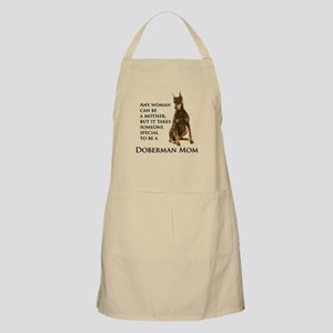 Doberman Mom Apron