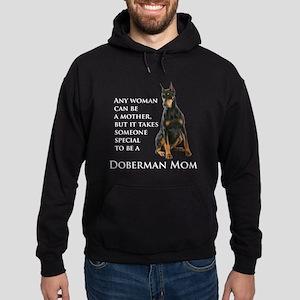 Doberman Mom Hoodie