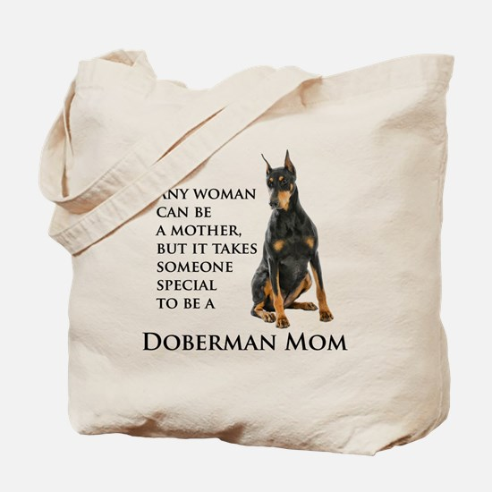 Doberman Mom Tote Bag