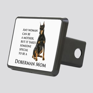 Doberman Mom Hitch Cover