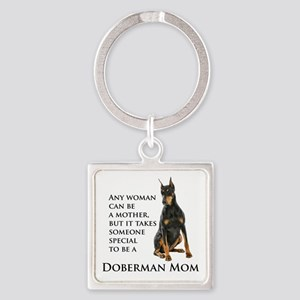 Doberman Mom Keychains
